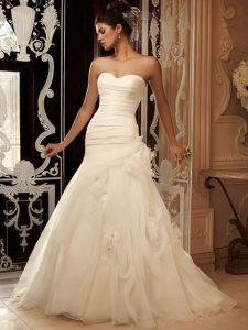Drop Waist Wedding Dresses