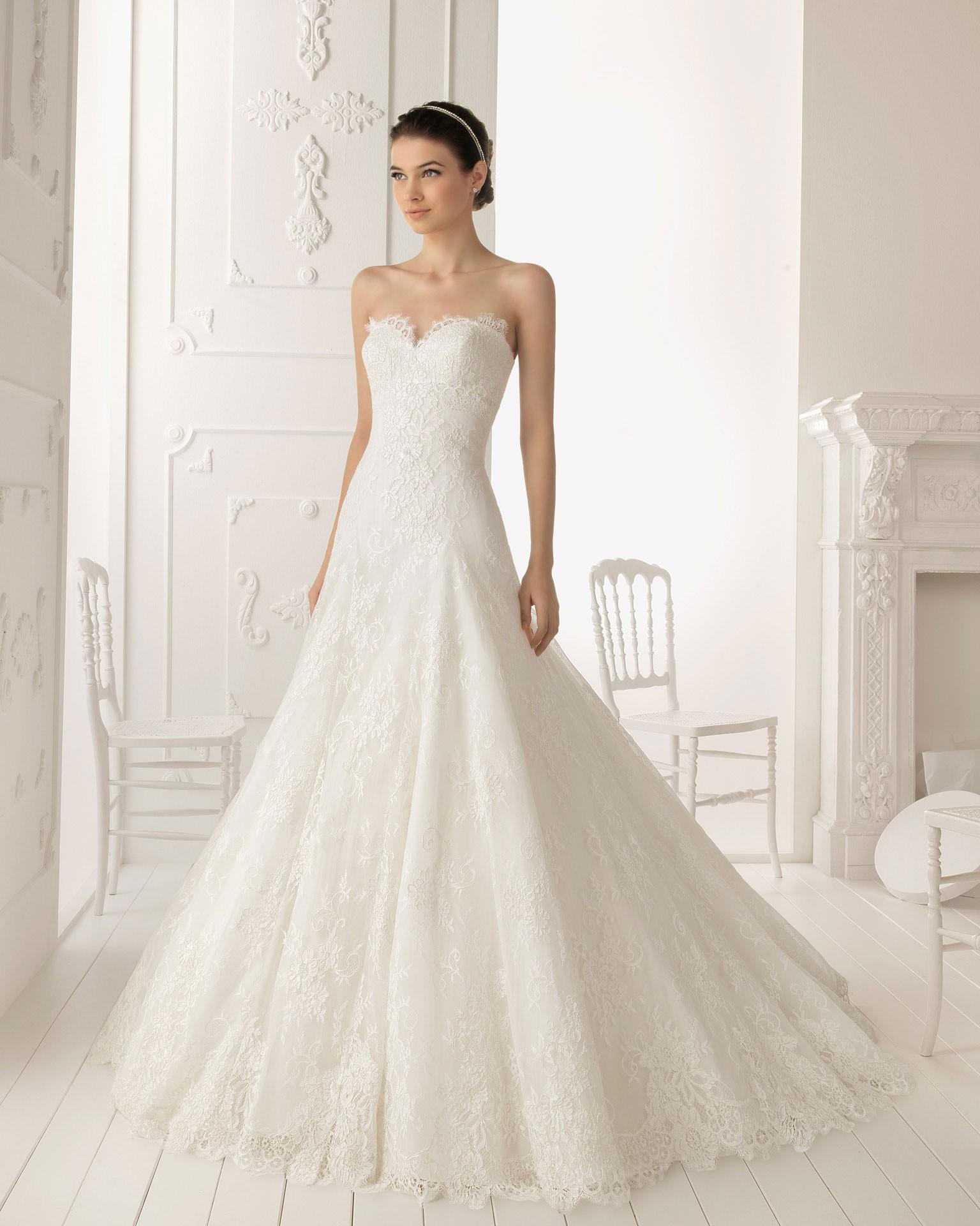 Wedding Attire: Drop Waist Wedding Dress