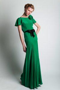 Emerald Green Maxi Dress