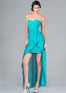High Low Bridesmaid Dress