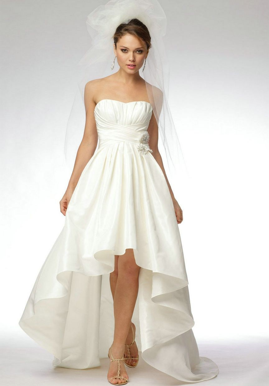 High Low Bridesmaid Dresses Cheap