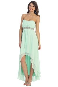 High Low Chiffon Dresses