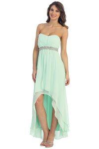 High Low Chiffon Dresses