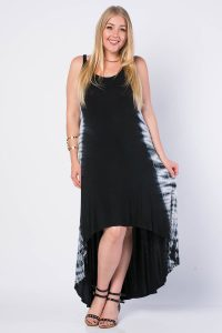 High Low Maxi Dress Plus Size