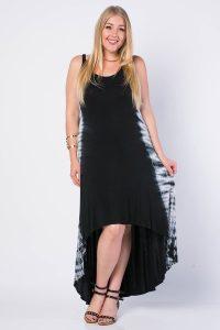 High Low Maxi Dress Plus Size