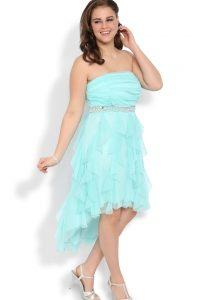 High Low Plus Size Dresses