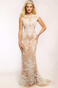 Lace Dress Champagne