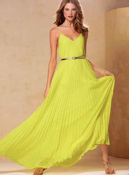 Green Maxi Dress - Dressed Up Girl