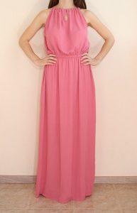 Long Pink Maxi Dress