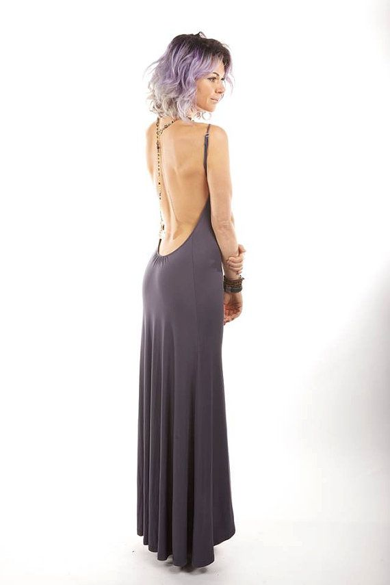 Backless Maxi Dress | Dressed Up Girl