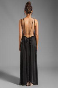 Maxi Dress Backless