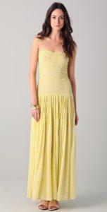 Maxi Dress Drop Waist