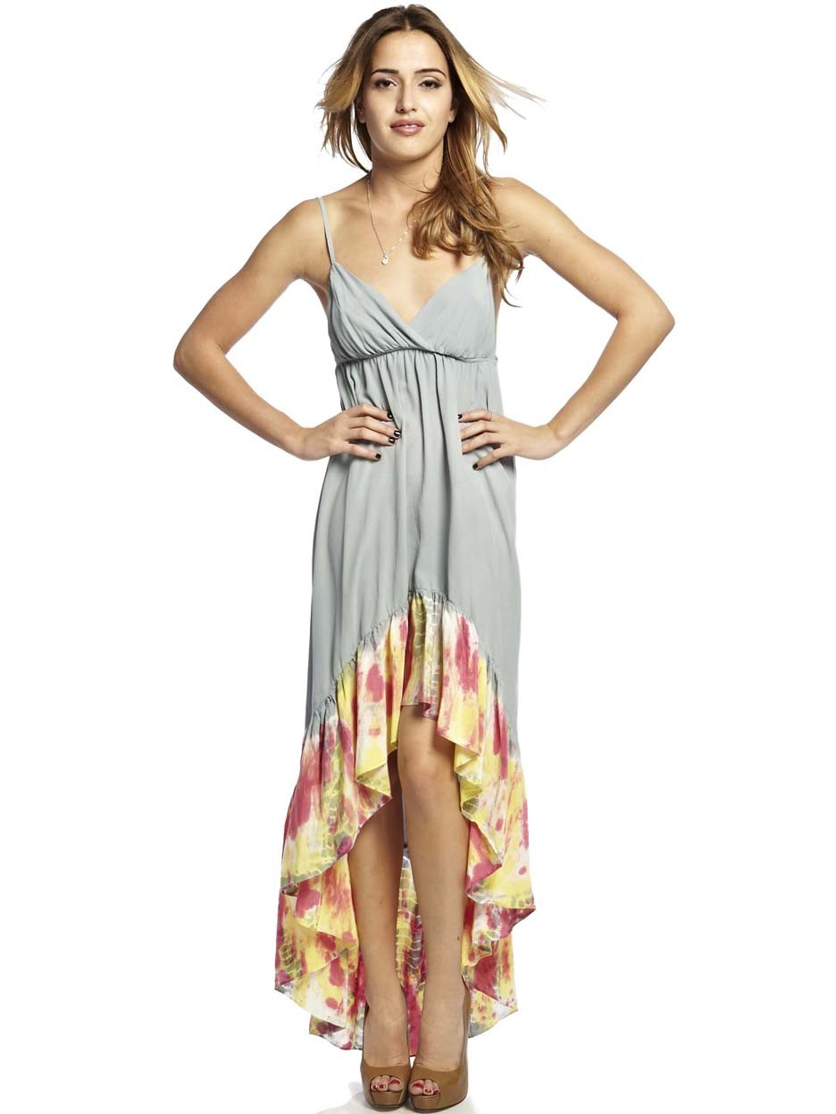 High Low Maxi Dress Dressed Up Girl