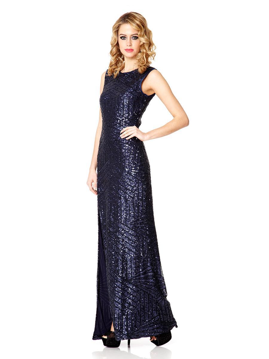 Sequin Maxi Dress Dressedupgirl Com