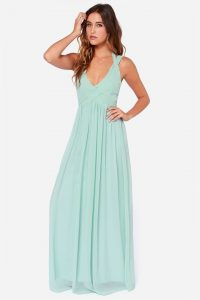 Mint Green Maxi Dress