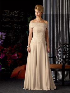 Mother of the Bride Dress Champagne