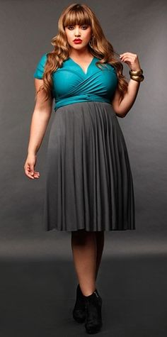 Plus Size Convertible Dress | DressedUpGirl.com