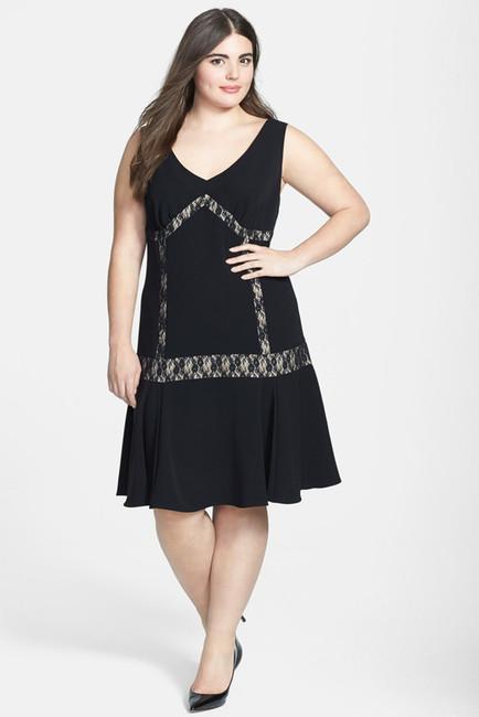 Plus Size Drop Waist Dress | DressedUpGirl.com