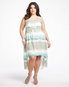 Plus Size High Low Summer Dresses
