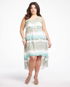Plus Size High Low Summer Dresses