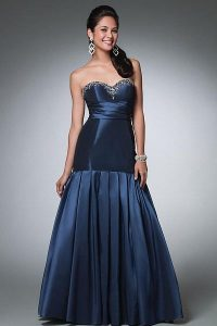 Prom Dress Drop Waist