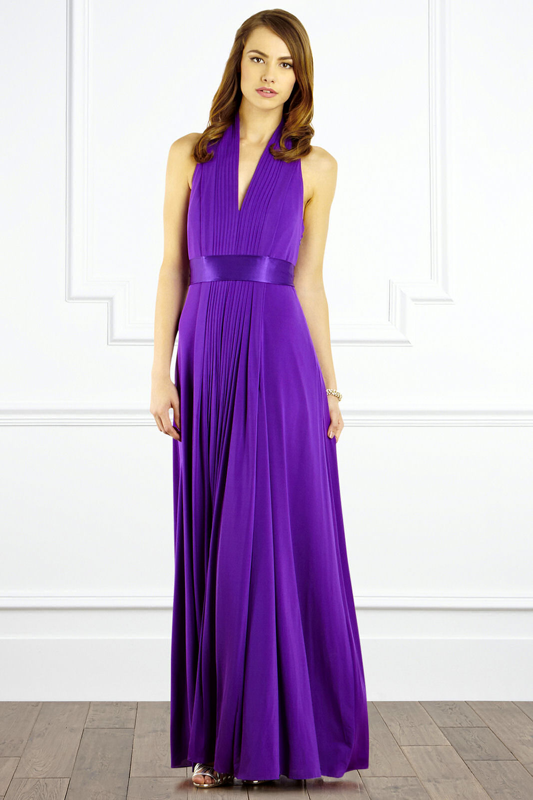 Purple Maxi Dress Dressed Up Girl