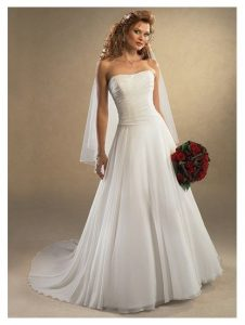 Wedding Dresses Drop Waist