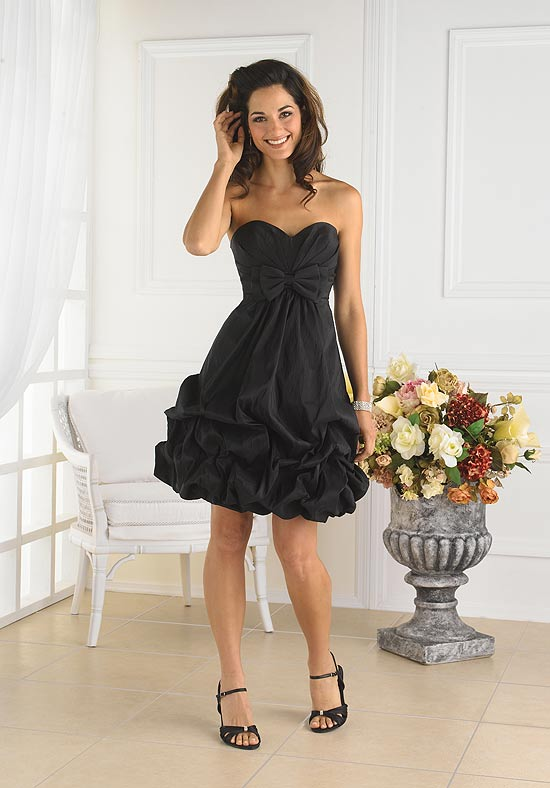 Black Bridesmaid Dresses | Dressed Up Girl