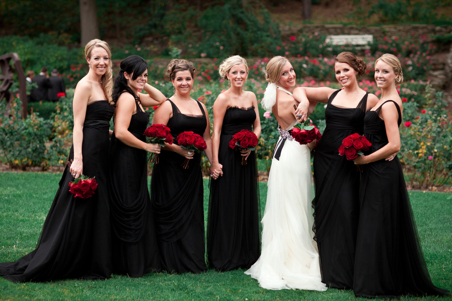 Black Bridesmaid Dresses | Dressed Up Girl