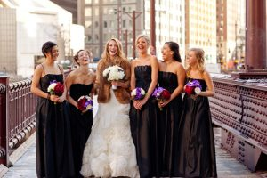 Black Long Bridesmaid Dresses