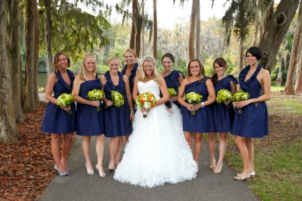 Blue Bridesmaid Dresses Dressedupgirlcom