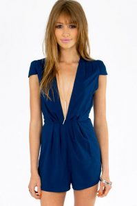 Blue Rompers