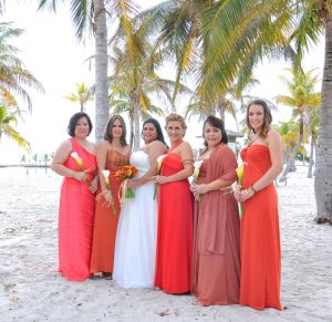 Bridesmaid Coral Dresses
