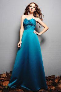 Bridesmaid Dress Teal