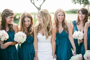 Bridesmaid Dress in Teal