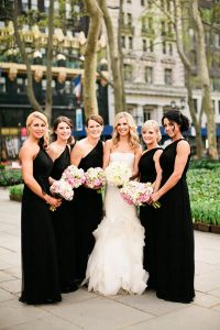 Bridesmaid Dresses Black