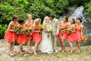 Bridesmaid Dresses Coral