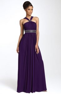 Bridesmaid Dresses Purple
