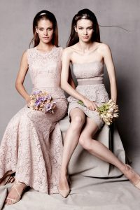Bridesmaid Lace Dresses