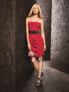 Bridesmaid Red Dresses