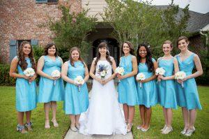 Bridesmaids Dresses Turquoise
