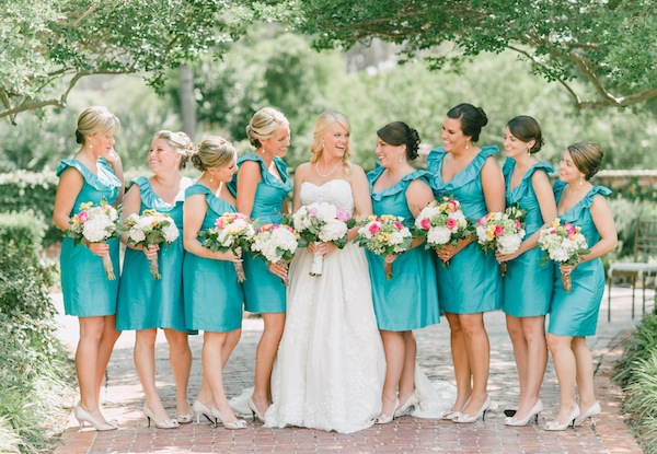 Turquoise bridesmaid dresses dressed up girl for Turquoise bridesmaid dresses for beach wedding