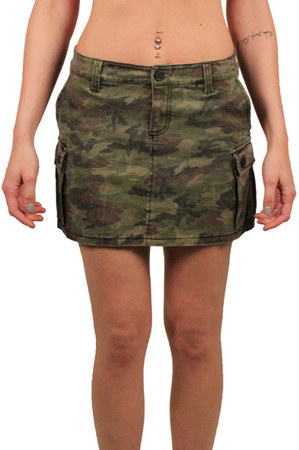 Cargo Skirts Dressed Up Girl