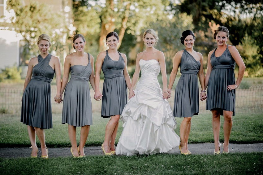 Good looking bridesmaids have group sex with the groom - 3 10
