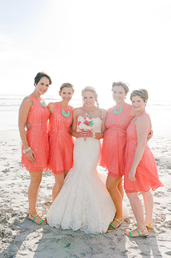 Coral bridesmaid dresses dressed up girl for Coral bridesmaid dresses for beach wedding