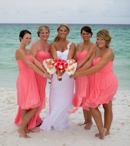 Coral Reef Bridesmaid Dresses