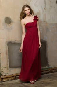 Dark Red Bridesmaid Dresses
