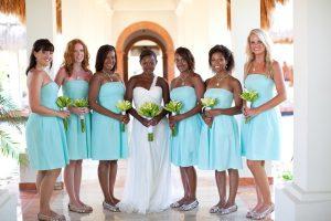 Dark Turquoise Bridesmaid Dresses