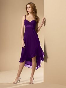 Deep Purple Bridesmaid Dresses