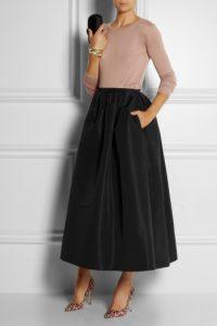 Full Taffeta Skirt